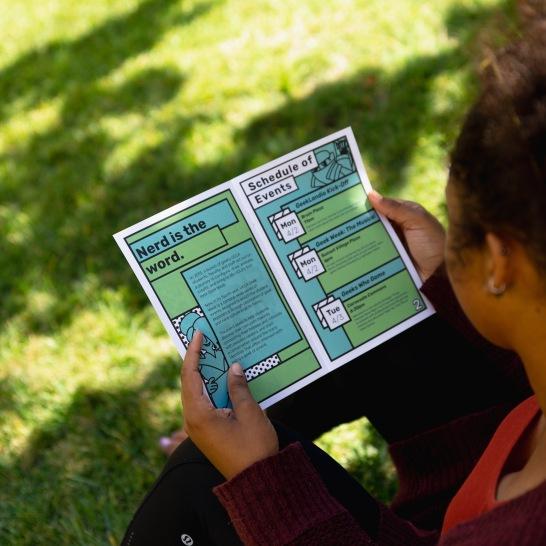 Geek Week Brochure/Event Guide